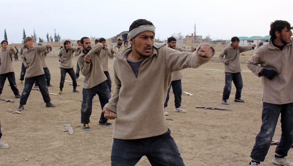 Kämpfer der von Washington unterstützten Freien Syrischen Armee: Mehr Geld, bessere Ausbildung