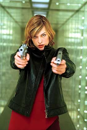"""Eichinger-Film """"Resident Evil"""", Hauptdarstellerin Jovovich: """"Das hier ist viel zu sehr Comic"""""""