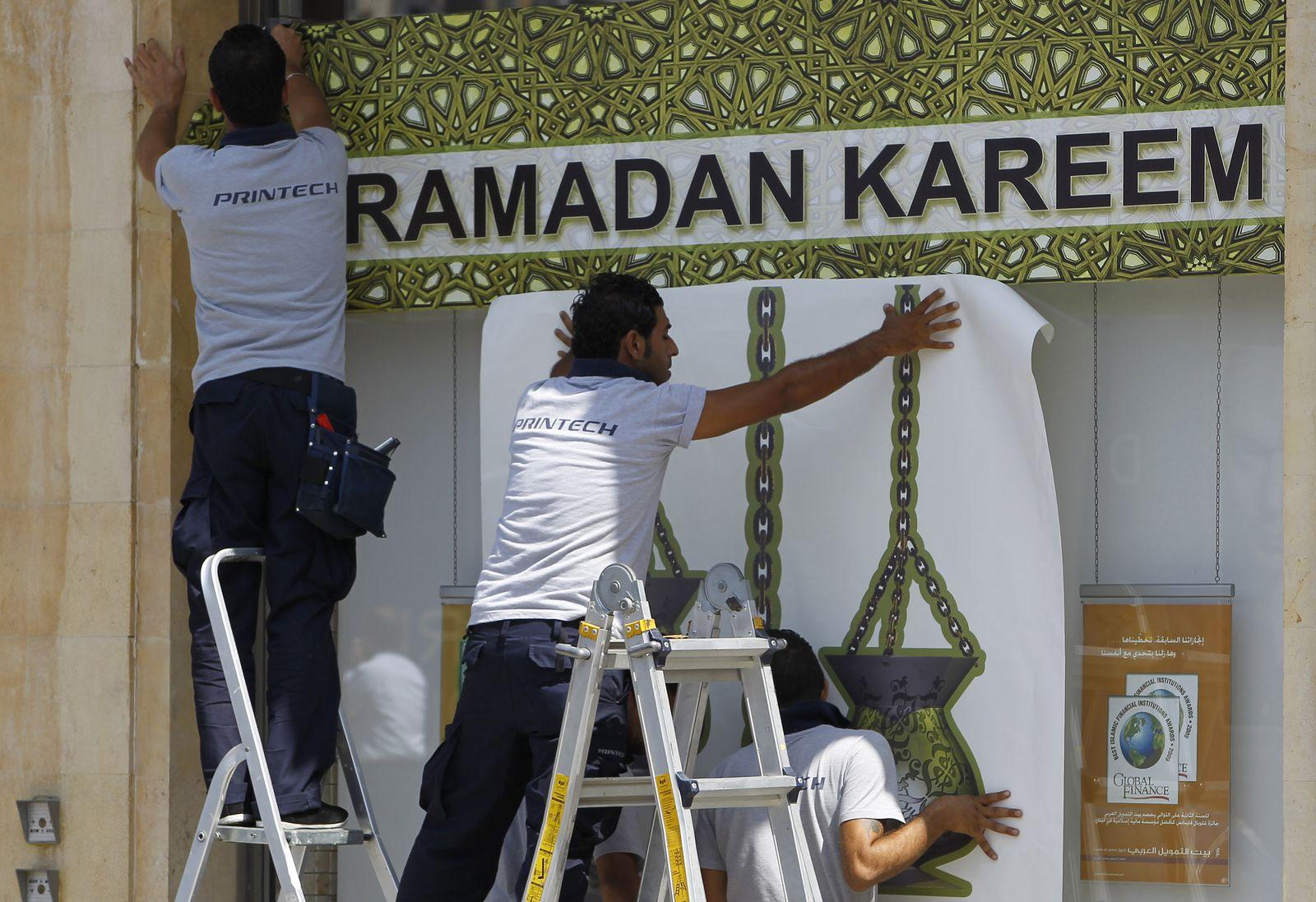 Mideast Lebanon Ramadan