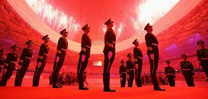 The Olympic opening ceremony in Beijing: political games