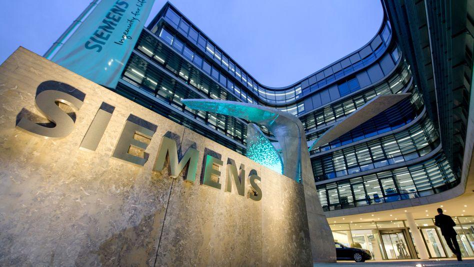 Siemens-Zentrale in München: Lang ersehnte Großakquisition