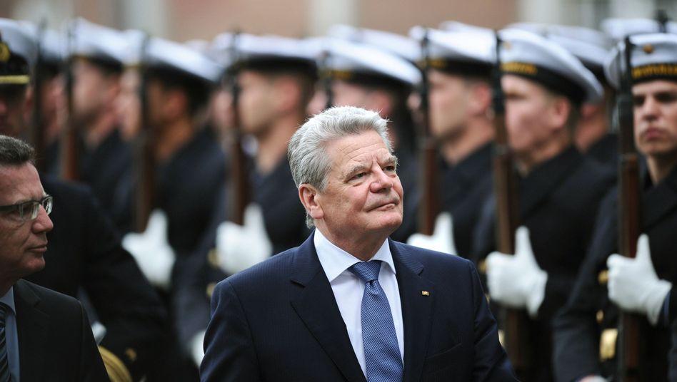 Bundespräsident Gauck: Nicht so zimperlich