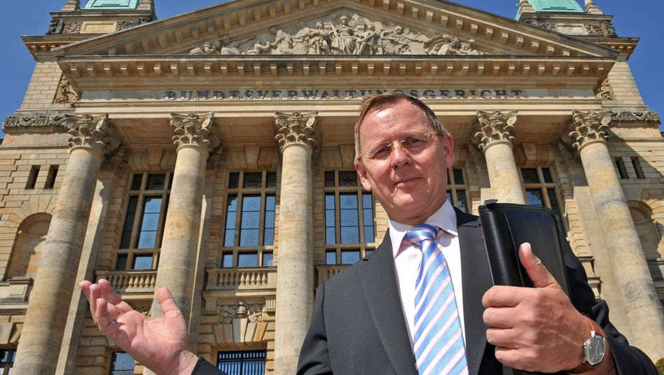 A menace to democracy? Thuringia's Left Party leader Bodo Ramelow.