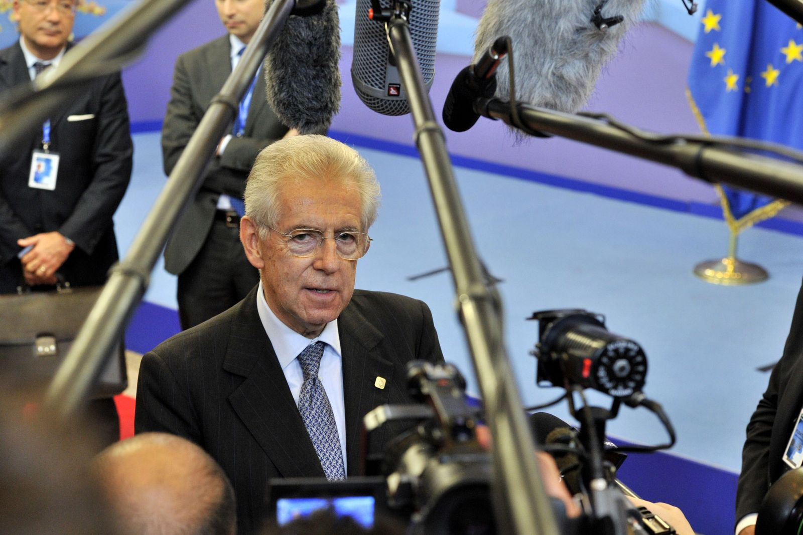 Monti / euro Gipfel