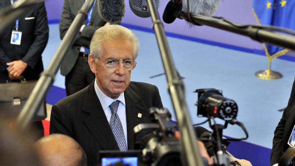 """Italiens Regierungschef Monti: """"Schwarzen Freitag verhindert"""""""