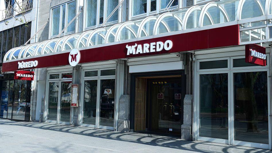 Maredo-Filiale: Nur wenige Verwaltungsmitarbeiter sollen beschäftigt bleiben