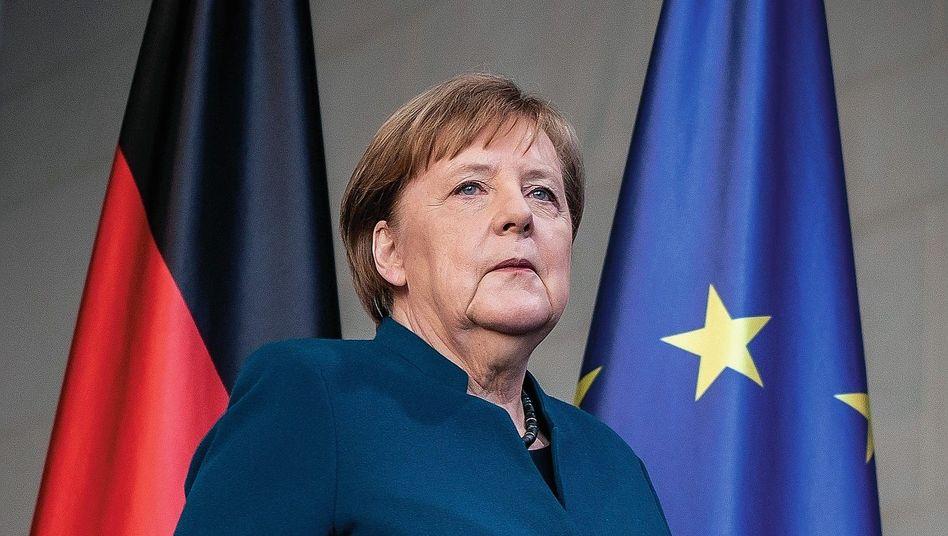 Regierungschefin Merkel:»Ich mache mir solche Sorgen«
