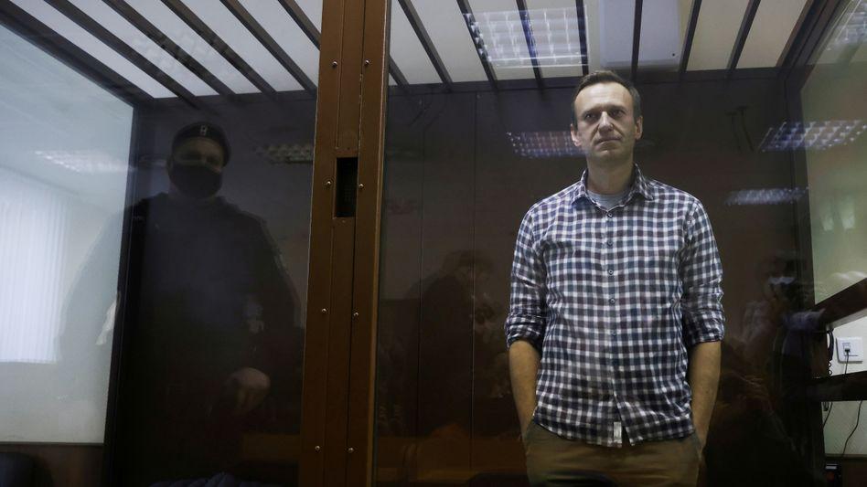 Alexej Nawalny im Gericht