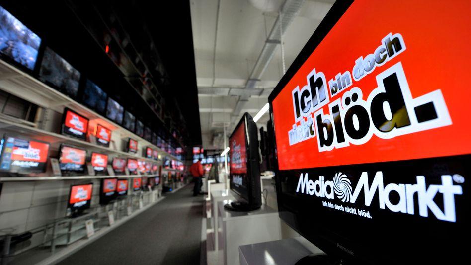 Fernseher bei Media Markt: Konkurrenz im Internet macht Händlern zu schaffen