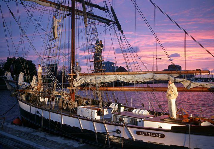 Das Museumsschiff: Die »Grönland« ist heute Botschafter Bremerhavens