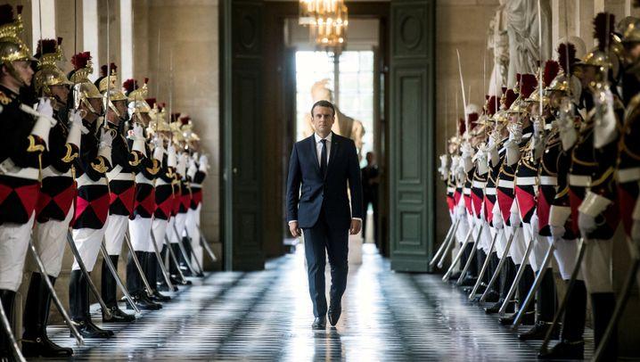 Frankreichs Präsident: Die Macronmanie geht weiter