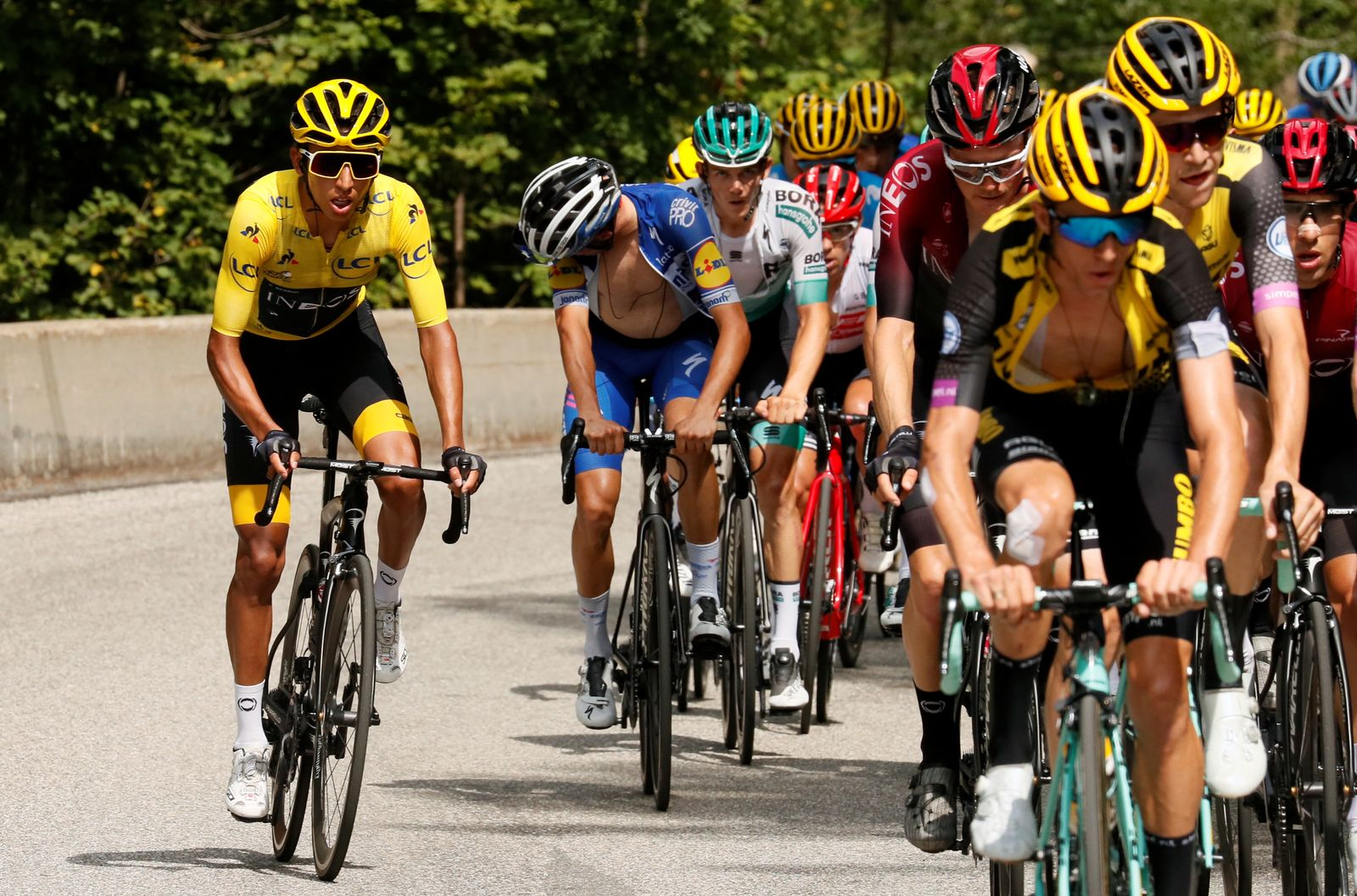 Tour de France - The 59.5-km Stage 20 from Albertville to Val Thorens