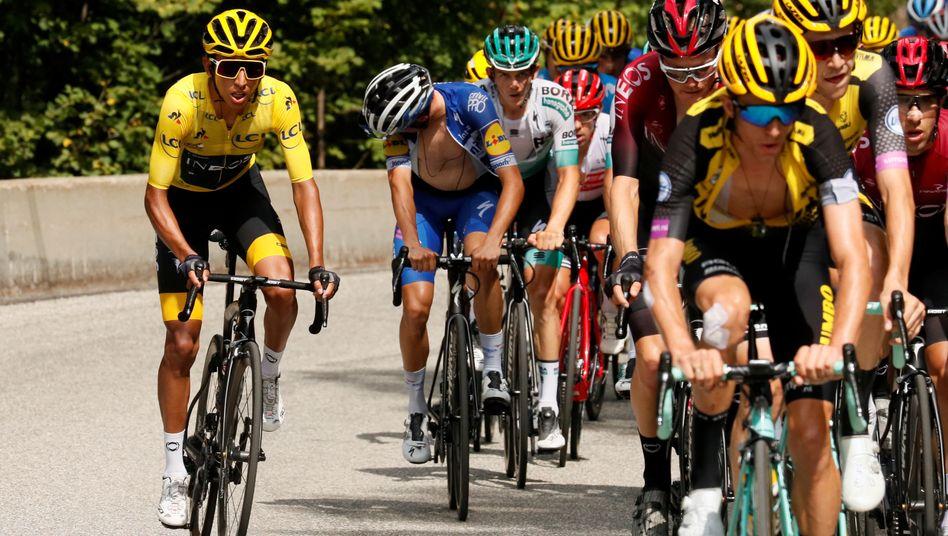 Egan Bernal gilt erneut als Favorit auf den Tour-Sieg