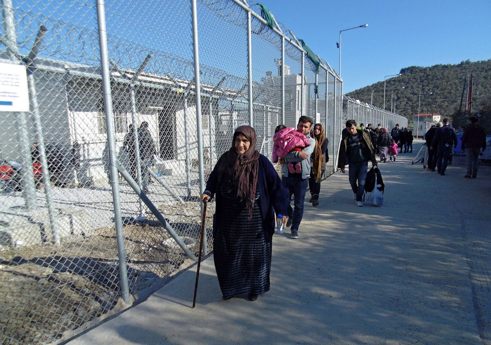 Hotspot Moria auf Lesbos
