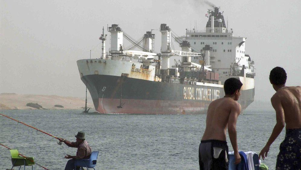 Kapitäne erzählen: Gefangen im Suezkanal