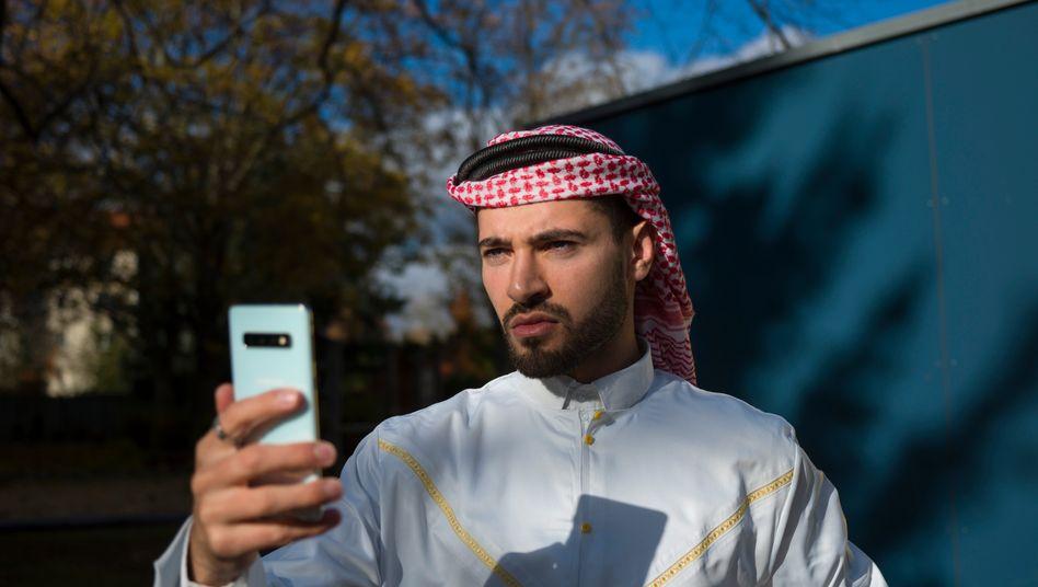 """Fayez Kanfash: """"Ich bin komplett gegen Gewalt"""""""