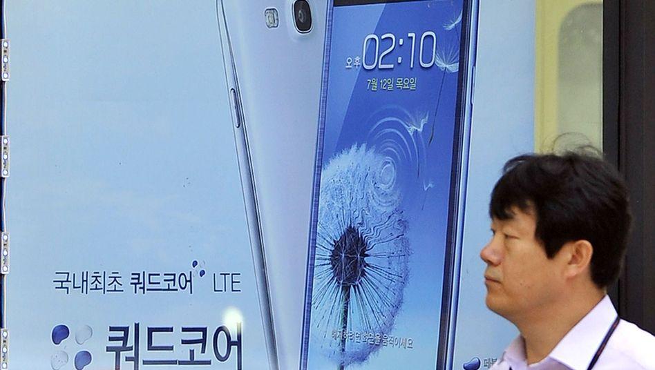 Niederlage gegen Apple: Samsung-Aktie stürzt nach Patenturteil ab