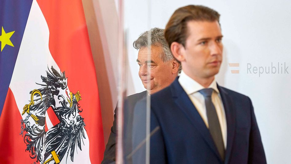Österreich: Sebastian Kurz, Moria - und das Dilemma der Grünen - DER SPIEGEL