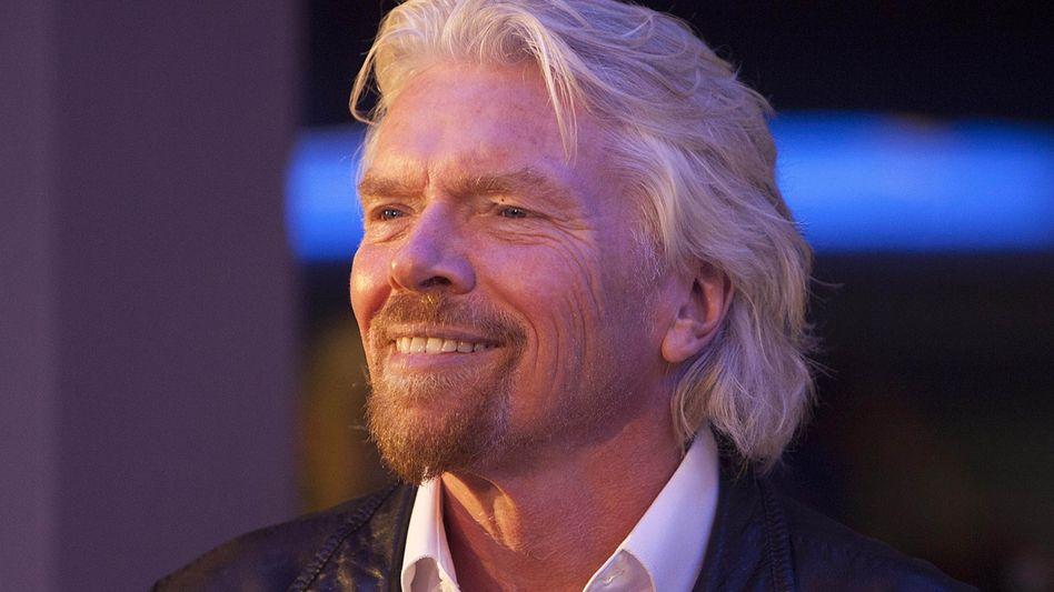 Zufriedener Richard Branson: Die neue Regelung soll die Arbeitsmoral steigern