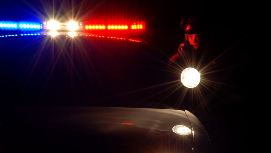 Nächtlicher Polizeieinsatz in den USA