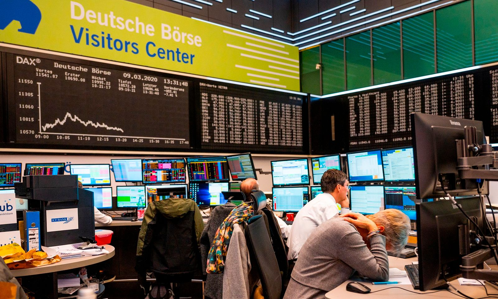 GERMANY-STOCK-EXCHANGE-HEALTH-VIRUS