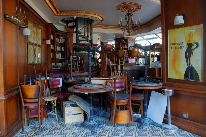 Die Pariser Cafés sind schon seit Oktober geschlossen – ab Mai sollen sie wieder öffnen