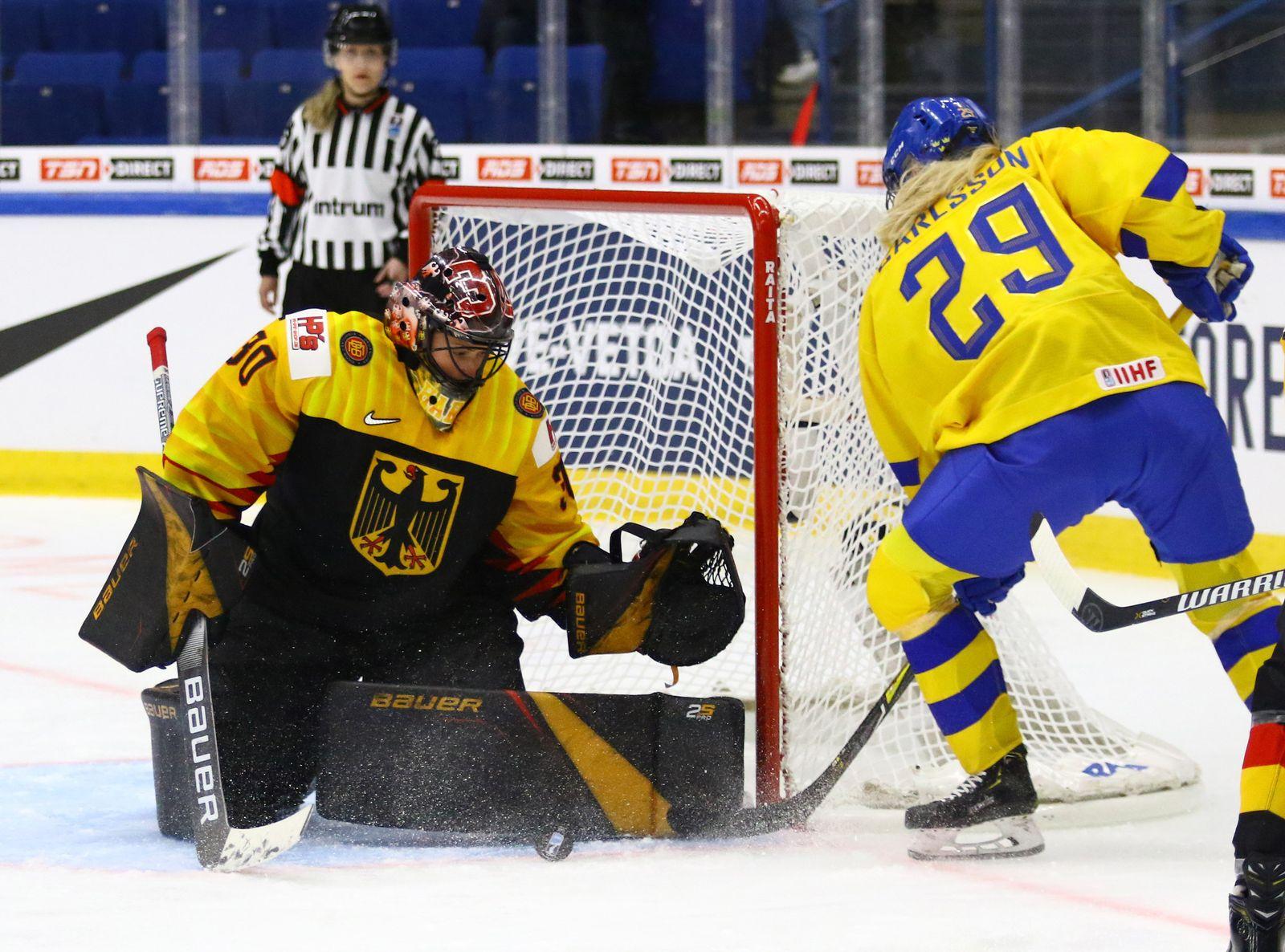 Eishockey, Frauen: WM, Deutschland - Schweden
