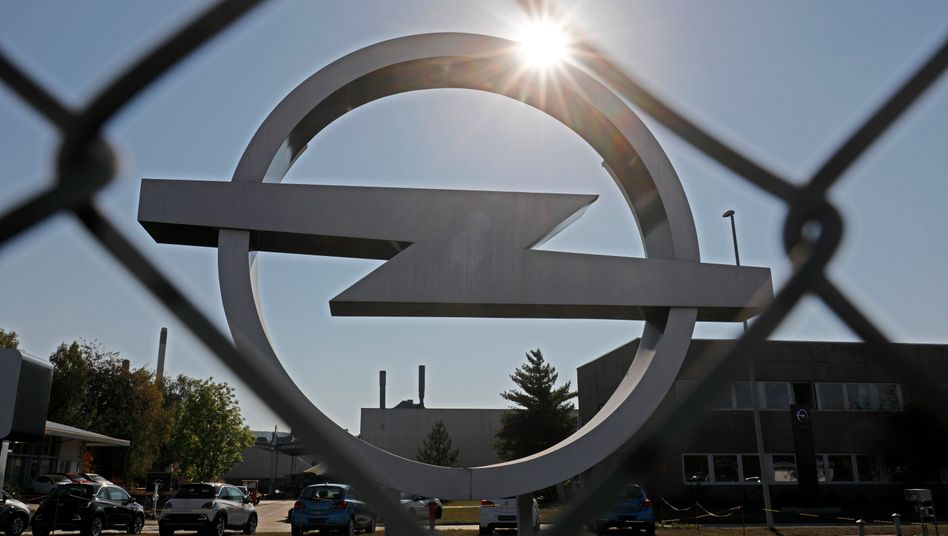 Opel-Fabrik in Kaiserslautern