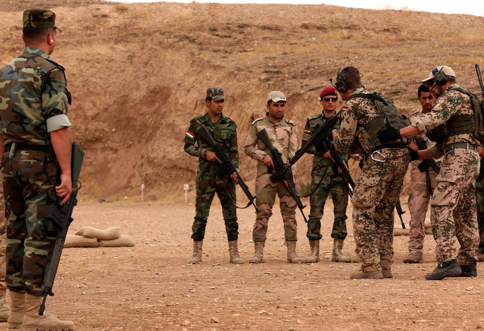 Irak / Kurden / deutsche Waffen / Bundeswehr