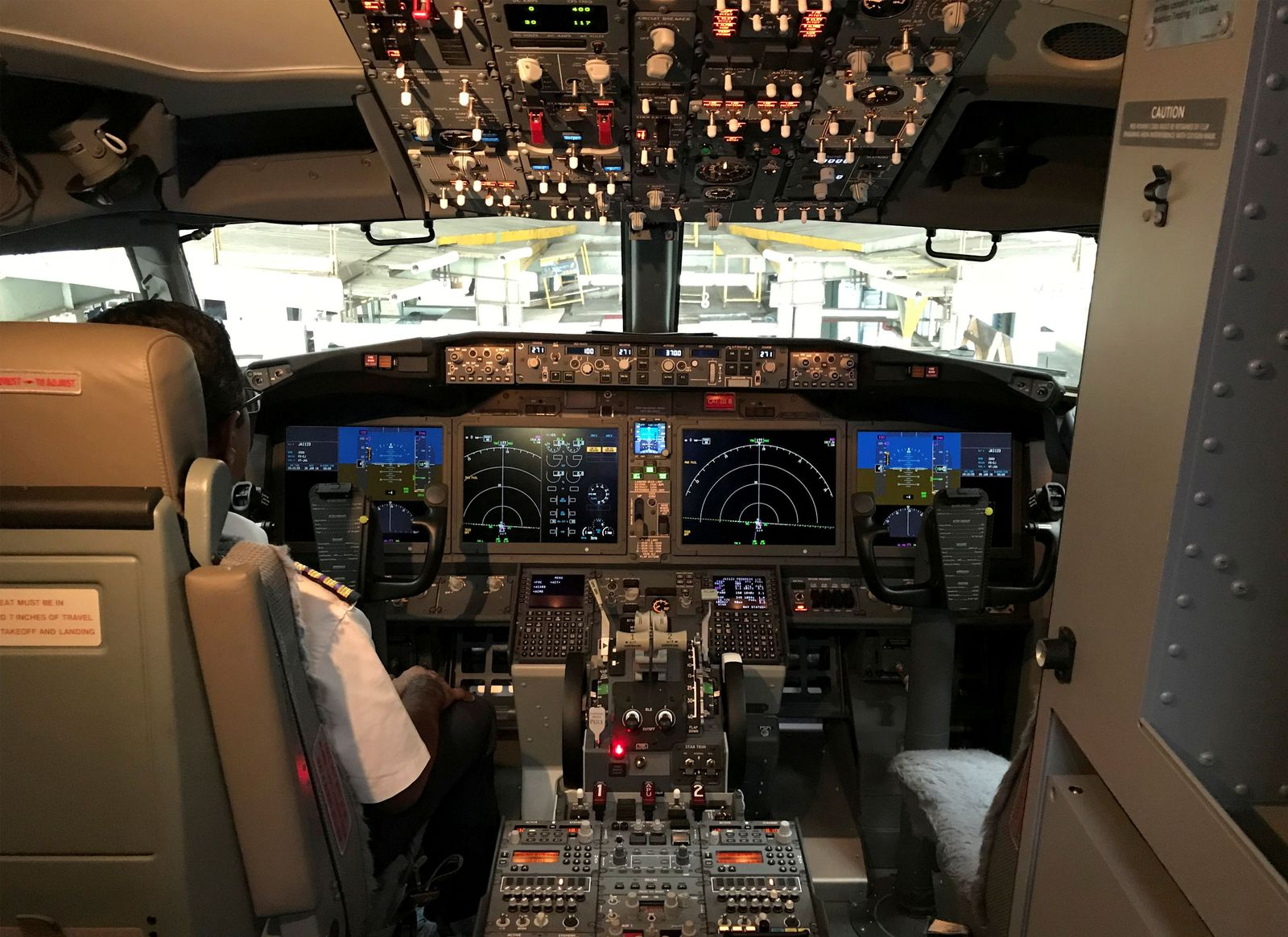 Cockpit Boeing 737 Max