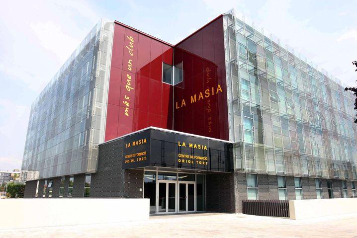 Das neue La-Masia-Gebäude