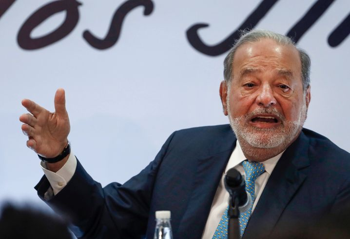 Carlos Slim gehört zu den reichsten Menschen der Welt
