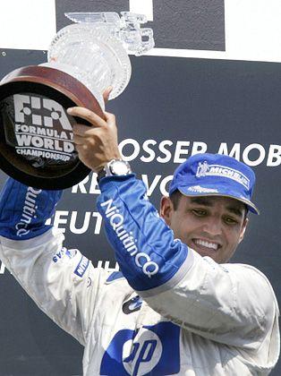 Juan Pablo Montoya: Coulthard muss ihm 2005 weichen