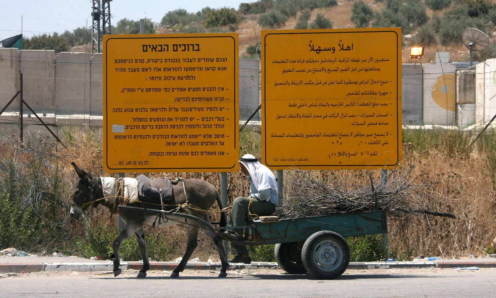 Palästina / Israel / Schutzwall