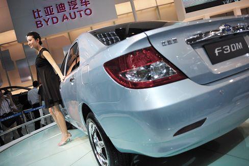 BYD F3DM: Das chinesische Hybridmodell auf der High-Tech-Messe in Shenzhen
