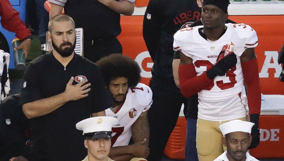 NFL-Star Kaepernick: Kniefall für die Rechte von Schwarzen