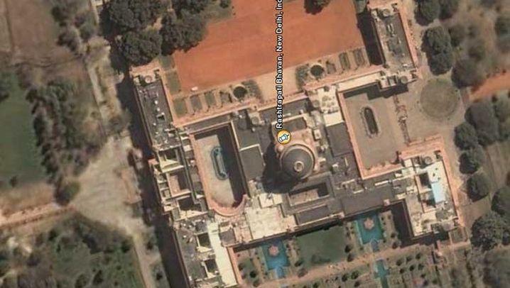Satellitenbilder: Schöner spionieren mit Google