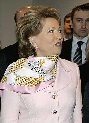 St. Petersburg Governor Valentina Matviyenko: Russia's most powerful female politician