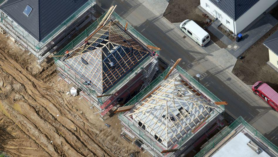 Baustellen bei Potsdam