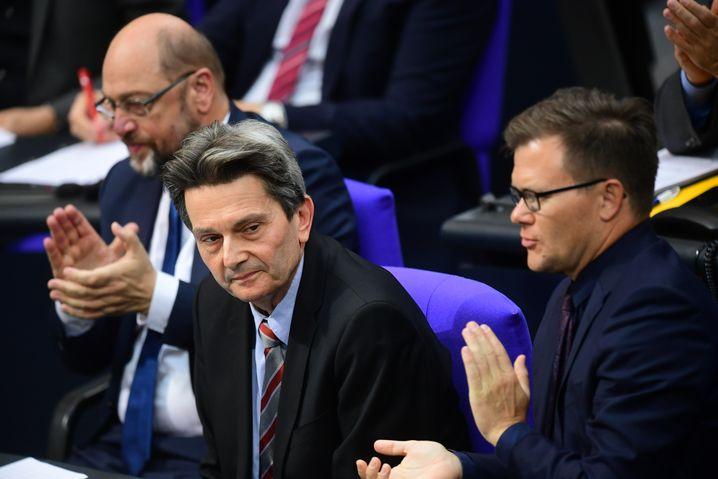 """SPD-Fraktionschef Mützenich: """"Dieser Feind steht rechts."""""""