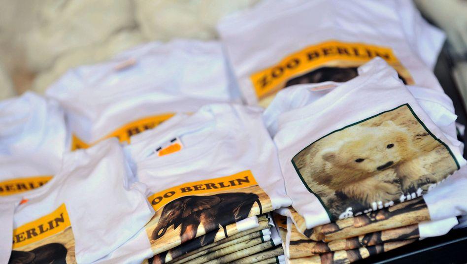 T-Shirts mit Eisbär Knut: Auch an Tieren können sich Unternehmen Markenrechte sichern
