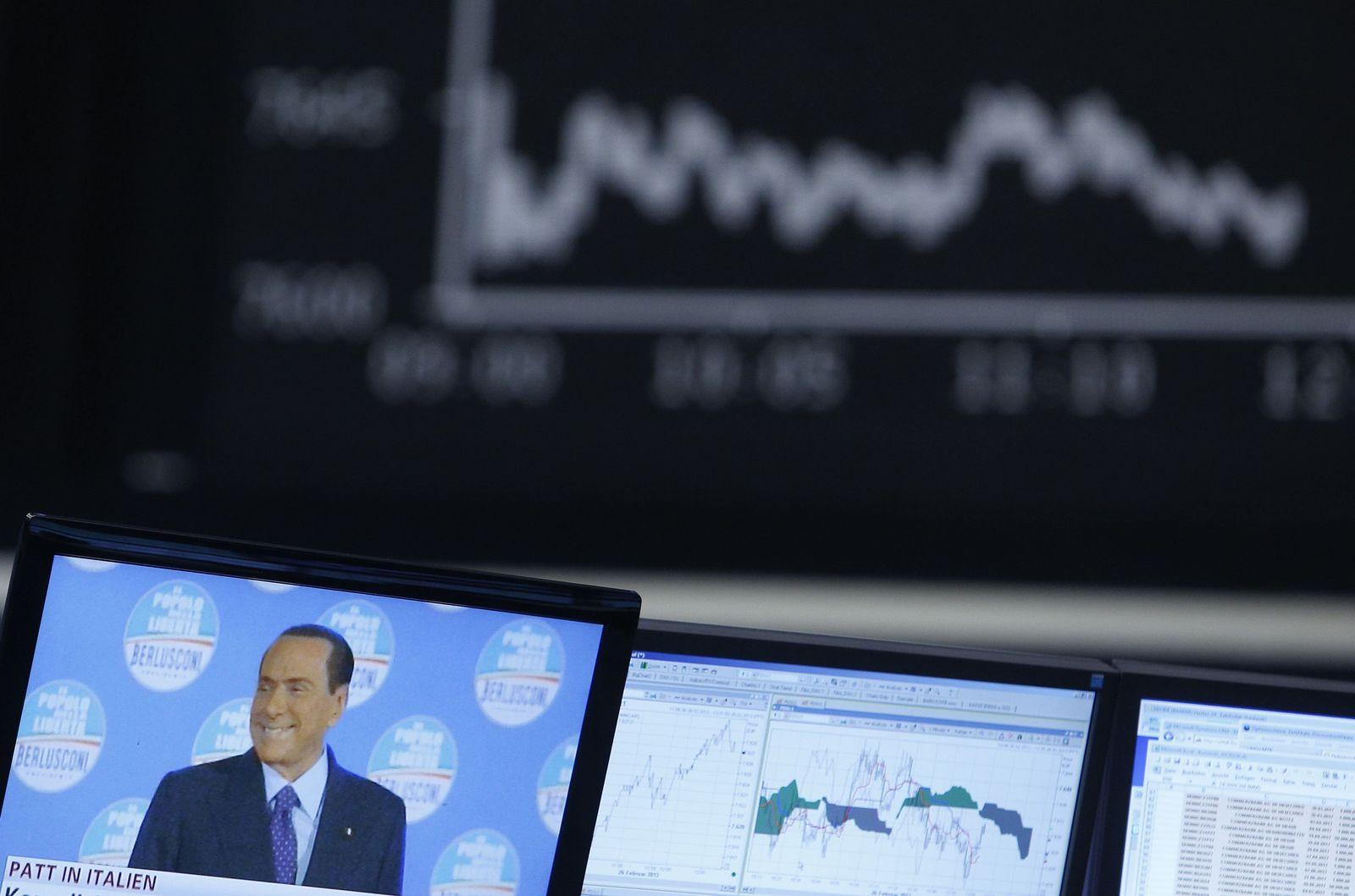 Berlusconi Börse