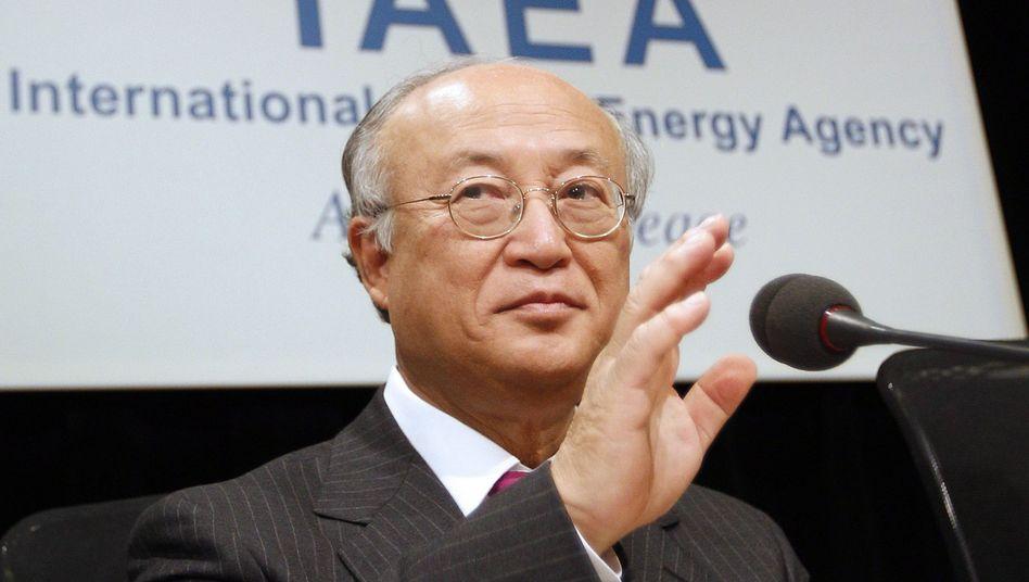 IAEA-Direktor Amano: Beunruhigt über Irans Atomwaffenprogramm
