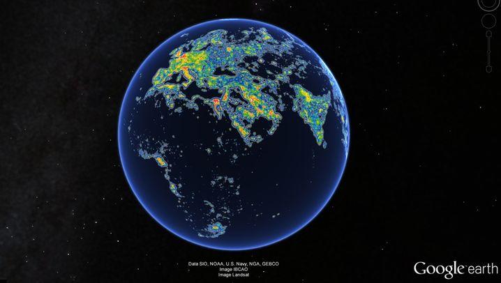 Neuer Atlas: So hell strahlt die Welt