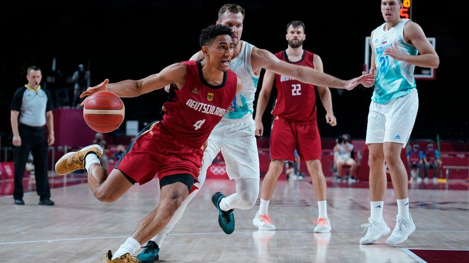 Die deutsche Basketball-Auswahl bei den Olympischen Spielen