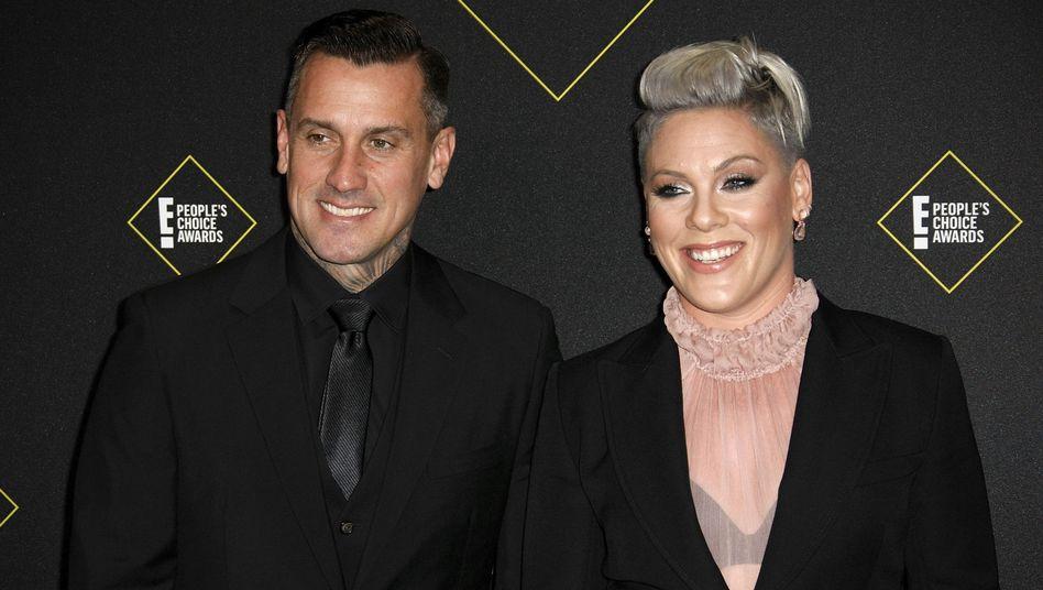 14 Jahre sind Pink und Carey Hart verheiratet: Das Paar hat in dieser Zeit viel erlebt