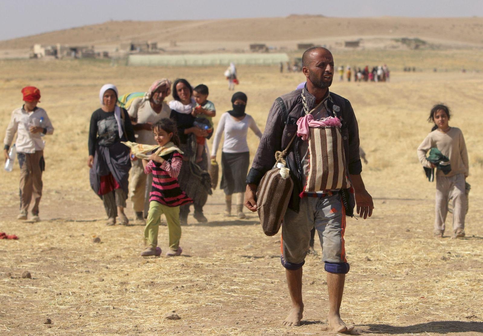 jesiden flüchtlinge