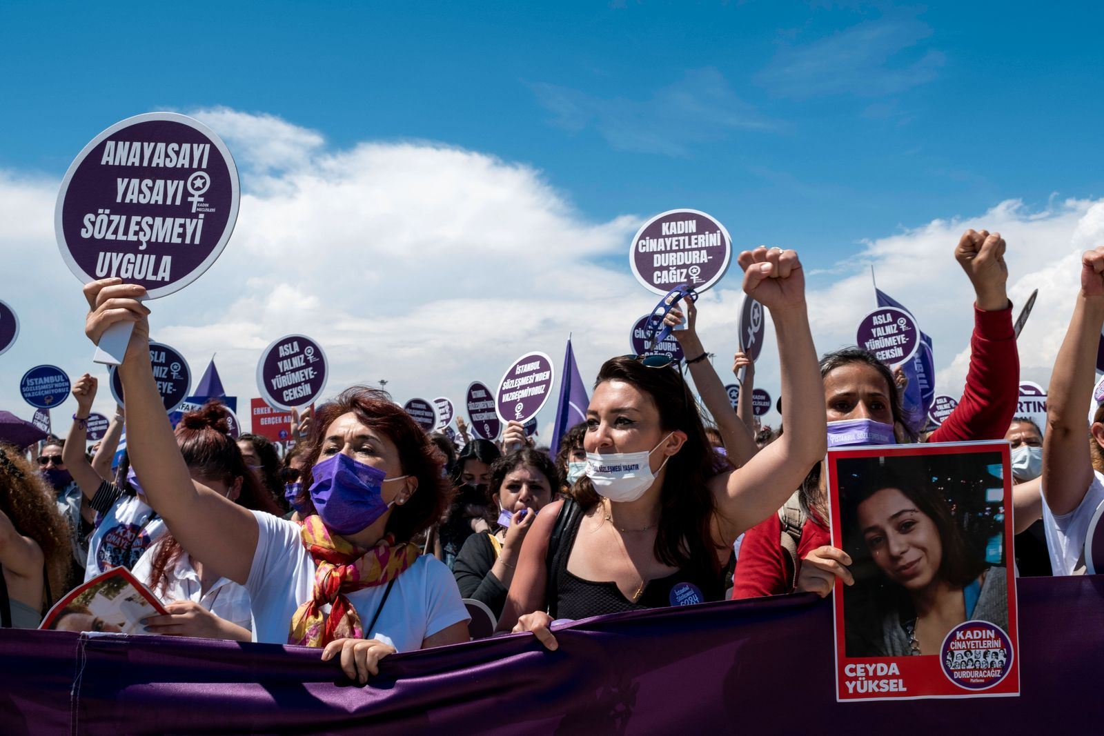 Protest Against Turkey s Withdrawal From Istanbul Convention Women and LGBTQ activists in Istanbul to protest the withd