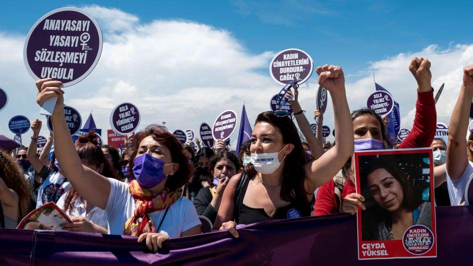 Proteste in Istanbul: Für den 1. Juli ist eine weitere Kundgebung angekündigt