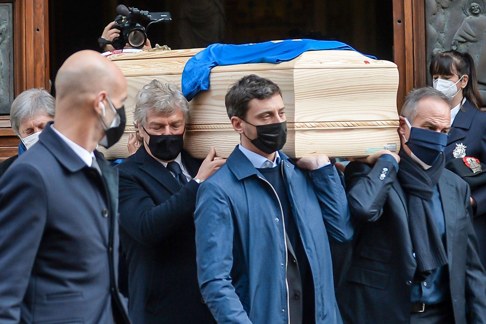 Beerdigung von Paolo Rossi